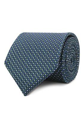 Мужской шелковый галстук ETON синего цвета, арт. A000 31552   Фото 1