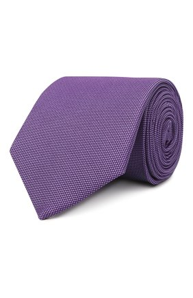 Мужской шелковый галстук ETON сиреневого цвета, арт. A000 31550 | Фото 1