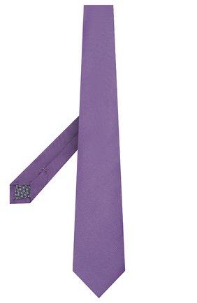 Мужской шелковый галстук ETON сиреневого цвета, арт. A000 31550 | Фото 2
