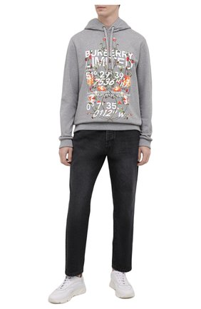 Мужские кожаные кроссовки MOMA белого цвета, арт. 4AS018-BT | Фото 2