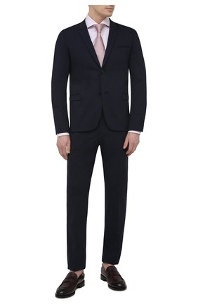 Мужской костюм HUGO темно-синего цвета, арт. 50450961 | Фото 1