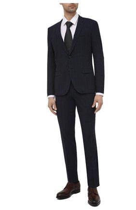 Мужской костюм HUGO темно-синего цвета, арт. 50451001 | Фото 1