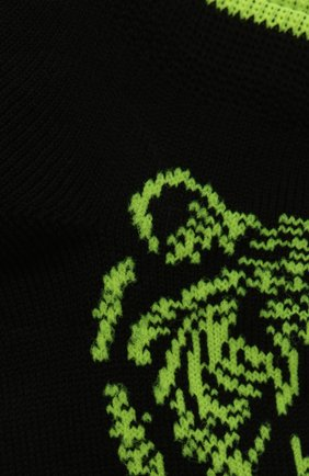 Детские хлопковые носки LA PERLA черного цвета, арт. 42375/4-6 | Фото 2