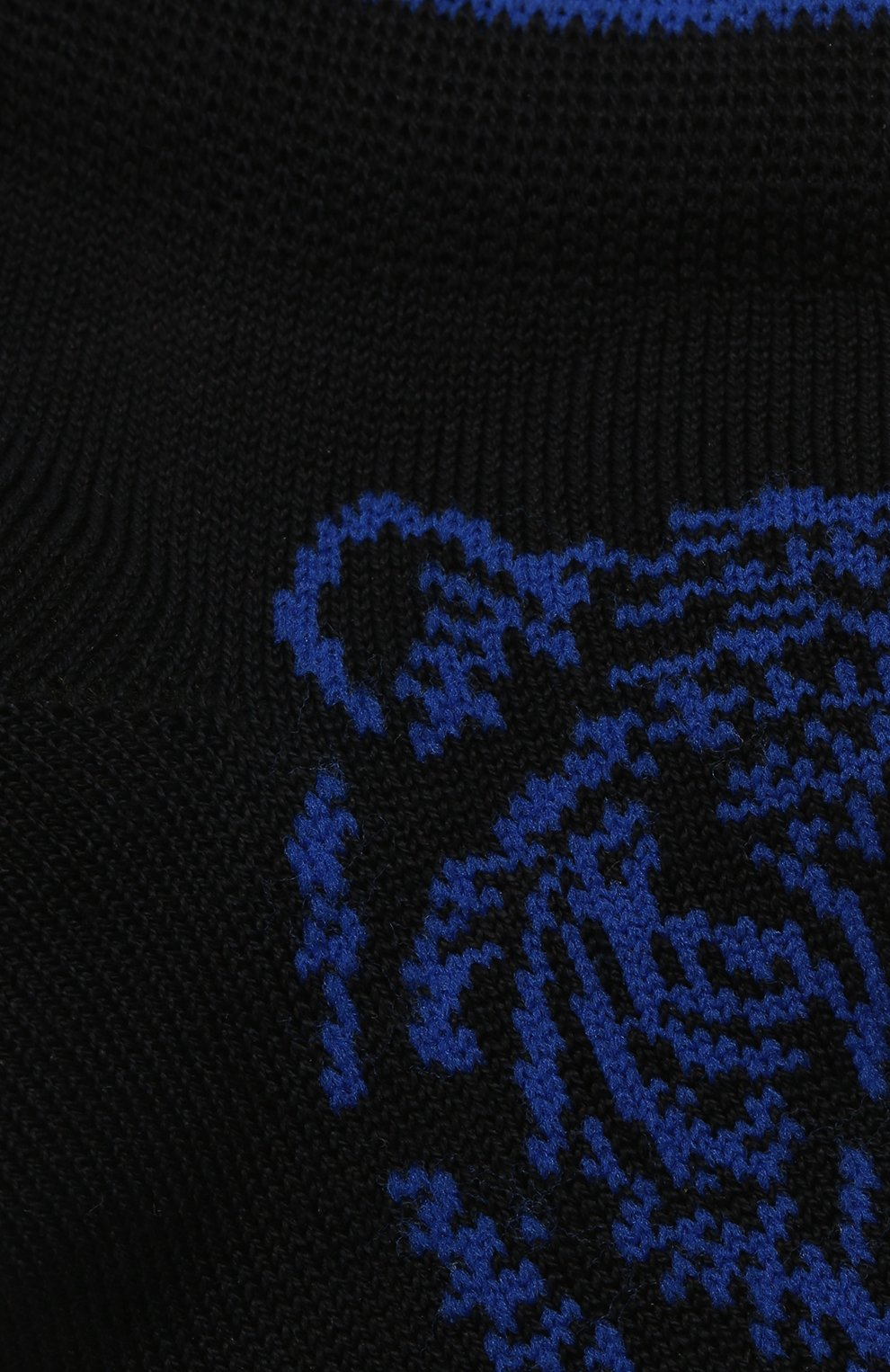 Детские хлопковые носки LA PERLA черного цвета, арт. 42375/4-6   Фото 2 (Материал: Текстиль, Хлопок)