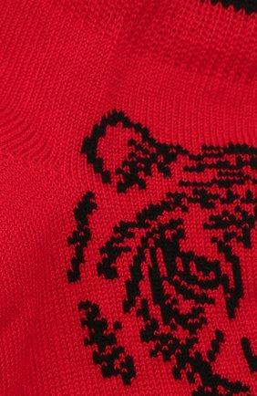 Детские хлопковые носки LA PERLA красного цвета, арт. 42375/4-6 | Фото 2