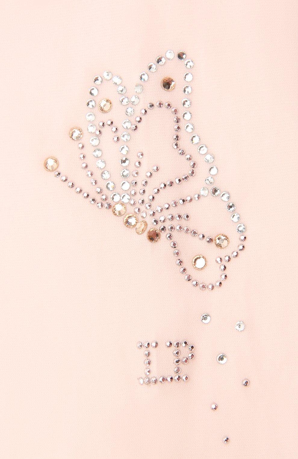Детские колготки LA PERLA розового цвета, арт. 42010/4-6 | Фото 2