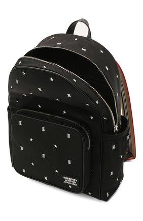 Детская рюкзак BURBERRY черного цвета, арт. 8037137 | Фото 2