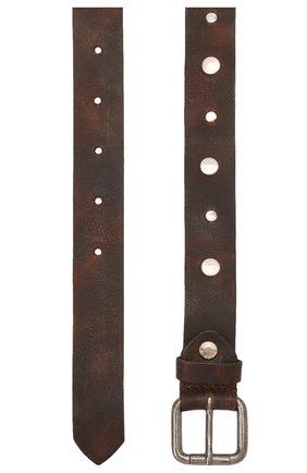 Детский кожаный ремень PAOLO PECORA MILANO коричневого цвета, арт. PP2752 | Фото 2