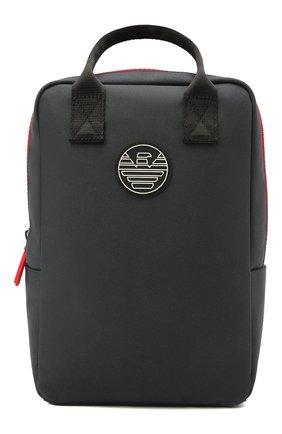 Детская рюкзак EMPORIO ARMANI темно-синего цвета, арт. 402522/1P556 | Фото 1