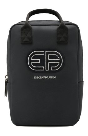 Детская рюкзак EMPORIO ARMANI темно-синего цвета, арт. 402522/1P590 | Фото 1