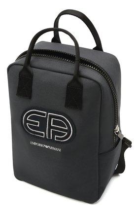 Детская рюкзак EMPORIO ARMANI темно-синего цвета, арт. 402522/1P590 | Фото 2