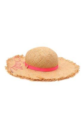 Детская соломенная шляпа IL TRENINO разноцветного цвета, арт. 21 5205 | Фото 2