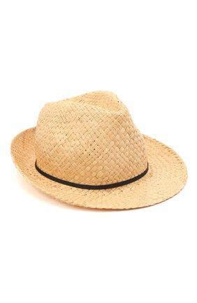 Детская соломенная шляпа IL TRENINO разноцветного цвета, арт. 21 5197 | Фото 1