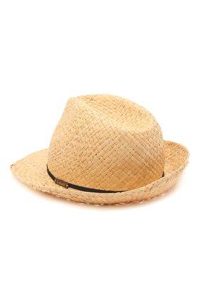 Детская соломенная шляпа IL TRENINO разноцветного цвета, арт. 21 5197 | Фото 2