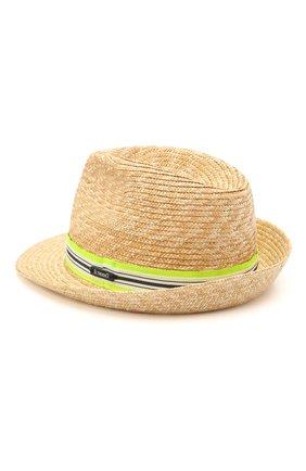 Детская соломенная шляпа IL TRENINO разноцветного цвета, арт. 21 5196 | Фото 2