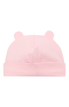 Детского хлопковая шапка IL TRENINO светло-розового цвета, арт. 21 5180 | Фото 2