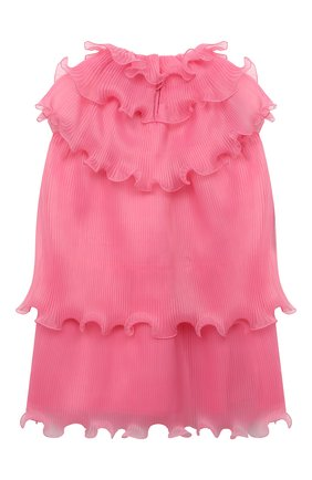 Детское платье ALBERTA FERRETTI JUNIOR розового цвета, арт. 027863 | Фото 2