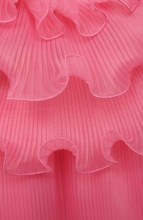 Детское платье ALBERTA FERRETTI JUNIOR розового цвета, арт. 027863 | Фото 3