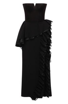 Женское платье ULYANA SERGEENKO черного цвета, арт. ABM003FW21NY(2074т20) | Фото 1