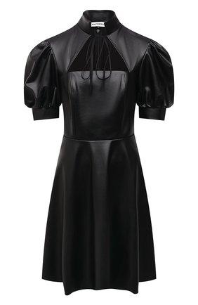 Женское платье из экокожи MASTERPEACE черного цвета, арт. MP-ECO21-09 | Фото 1