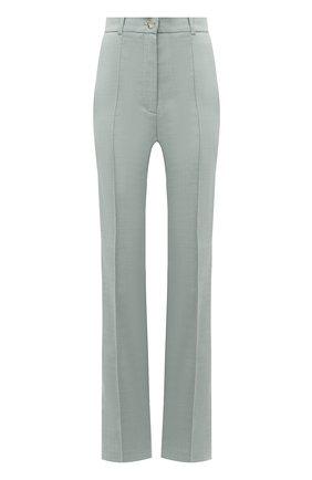 Женские брюки из вискозы LESYANEBO серого цвета, арт. SS21/Н-157-1_1 | Фото 1