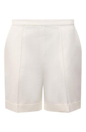 Женские хлопковые шорты TEGIN светло-бежевого цвета, арт. SP2156 | Фото 1