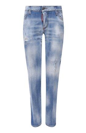 Женские джинсы DSQUARED2 голубого цвета, арт. S75LB0504/S30342 | Фото 1