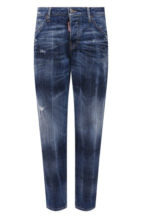 Женские джинсы DSQUARED2 синего цвета, арт. S72LB0396/S30309 | Фото 1