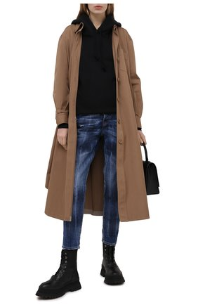 Женские джинсы DSQUARED2 синего цвета, арт. S72LB0396/S30309 | Фото 2