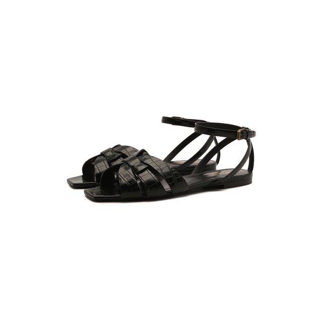 Кожаные сандалии Tribute Saint Laurent