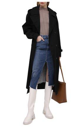 Женская джинсовая юбка CITIZENS OF HUMANITY синего цвета, арт. 3155-1295 | Фото 2