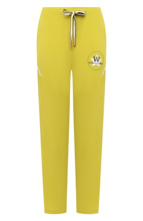 Женские джоггеры LORENA ANTONIAZZI желтого цвета, арт. P2156PA092/2566 | Фото 1