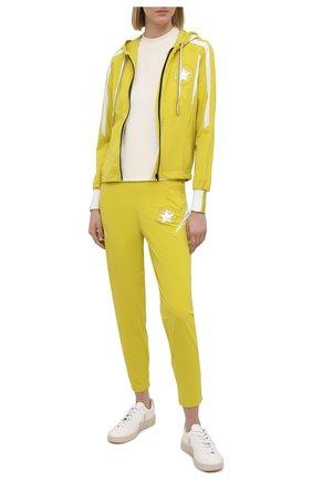 Женская ветровка LORENA ANTONIAZZI желтого цвета, арт. P2156FE014/2566 | Фото 2