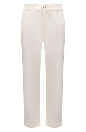 Женские джинсы LORENA ANTONIAZZI светло-бежевого цвета, арт. P2130PA019/3197 | Фото 1