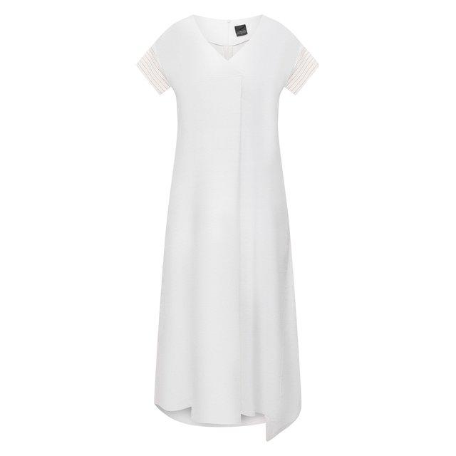 Платье из льна и вискозы Lorena Antoniazzi