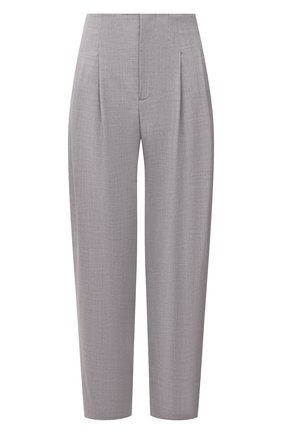 Женские шерстяные брюки LORENA ANTONIAZZI светло-серого цвета, арт. P2110PA003/2147 | Фото 1