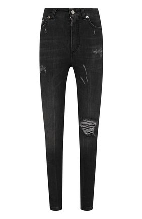 Женские джинсы DOLCE & GABBANA темно-серого цвета, арт. FTAH6D/G899D | Фото 1