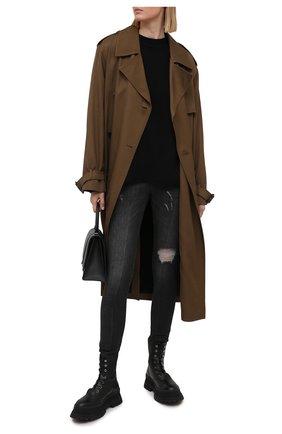 Женские джинсы DOLCE & GABBANA темно-серого цвета, арт. FTAH6D/G899D | Фото 2