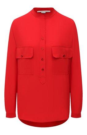 Женская шелковая блузка STELLA MCCARTNEY красного цвета, арт. 531899/SY206 | Фото 1