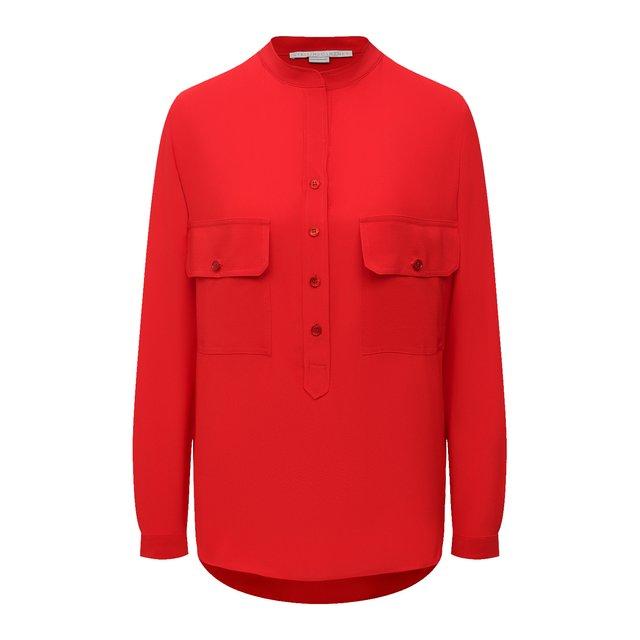Шелковая блузка Stella McCartney