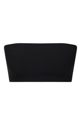 Женский топ-бандо из вискозы STELLA MCCARTNEY черного цвета, арт. 344787/S7230 | Фото 1