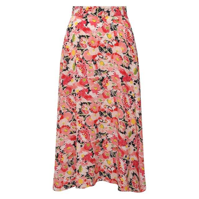 Шелковая юбка Stella McCartney