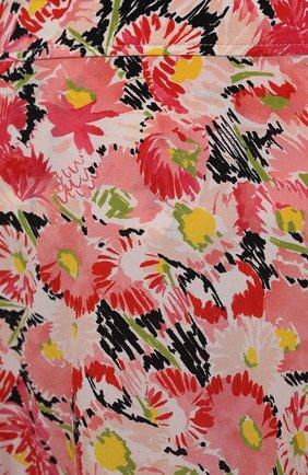 Женская шелковая юбка STELLA MCCARTNEY розового цвета, арт. 602927/SRA27   Фото 5