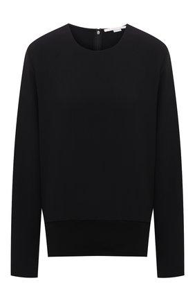 Женский пуловер из вискозы STELLA MCCARTNEY черного цвета, арт. 602924/SCA06 | Фото 1