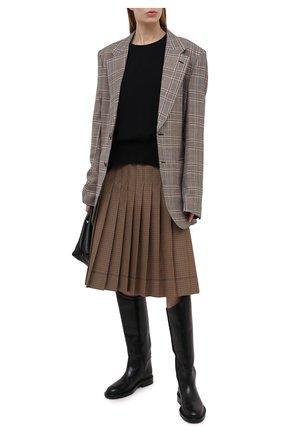 Женский пуловер из вискозы STELLA MCCARTNEY черного цвета, арт. 602924/SCA06 | Фото 2