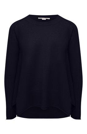Женский пуловер из кашемира и шерсти STELLA MCCARTNEY темно-синего цвета, арт. 602897/S2242 | Фото 1