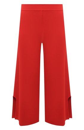 Женские брюки из вискозы STELLA MCCARTNEY красного цвета, арт. 602880/S2076 | Фото 1