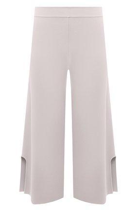 Женские брюки из вискозы STELLA MCCARTNEY светло-серого цвета, арт. 602880/S2076 | Фото 1