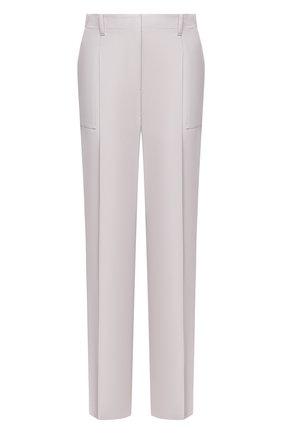 Женские шерстяные брюки STELLA MCCARTNEY светло-серого цвета, арт. 602439/SPA28 | Фото 1