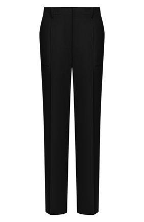 Женские шерстяные брюки STELLA MCCARTNEY черного цвета, арт. 602439/SPA28 | Фото 1